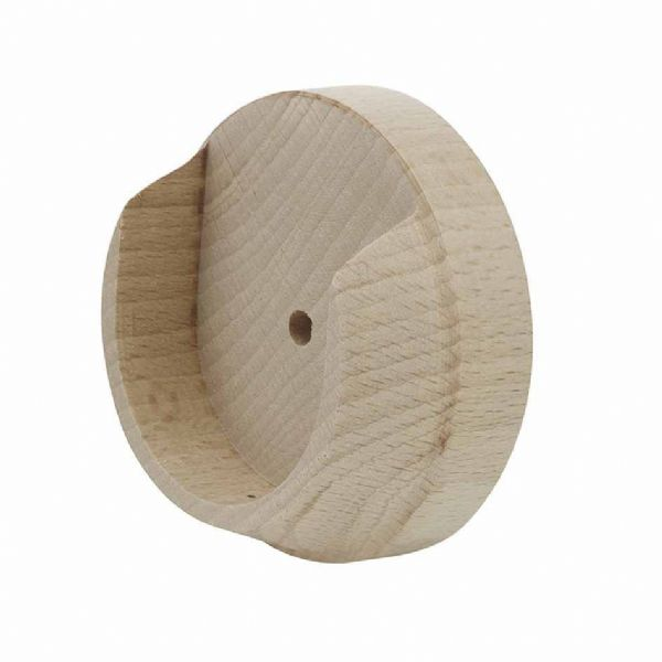 Rolls Unfinished 50mm Wooden Recess Brackets (Pair)